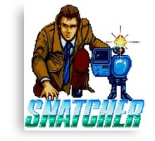 Snatcher - SEGA CD Canvas Print