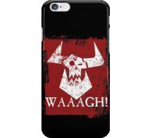 Ork Red Waaargh! iPhone Case/Skin