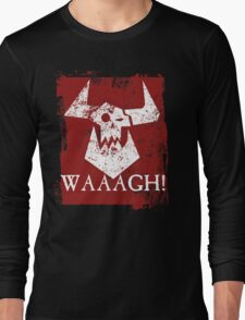 Ork Red Waaargh! Long Sleeve T-Shirt