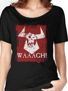Ork Red Waaargh! Women's Relaxed Fit T-Shirt
