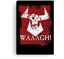 Ork Red Waaargh! Canvas Print