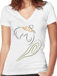 The flintstones - Bam Bam Women's Fitted V-Neck T-Shirt