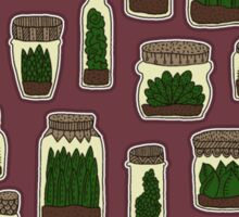 Mason Jar Garden Sticker
