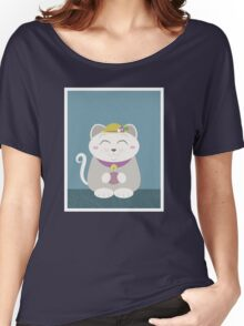 Cat in the rain Women's Relaxed Fit T-Shirt