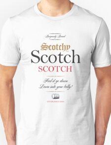 Scotchy Scotch Scotch - Ron Burgundy T-Shirt
