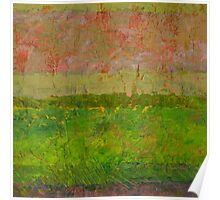 Abstract Landscape Series - Summer Fields Poster