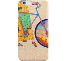 Bike tour iPhone Case/Skin