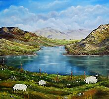 """Connemara Spring, Ireland"" - oil painting by Avril Brand"