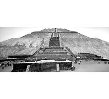 Pyramid of the Moon Photographic Print