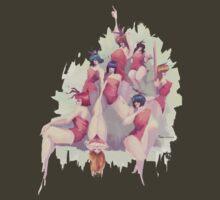 Petal Girls by Nori Tominaga