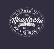 MOVEMBER - Moustache Club of the World (white) Unisex T-Shirt