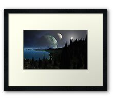 Imagine - pre-story Framed Print