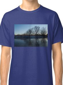 Icy Cool Blue Reflections Classic T-Shirt