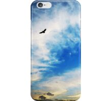 Above The Clouds - American Bald Eagle Art Painting iPhone Case/Skin