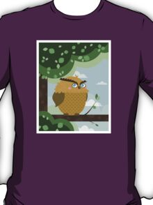 Owl in a branch T-Shirt
