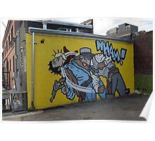 Street Art in Denver Poster