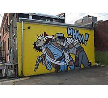 Street Art in Denver Photographic Print
