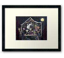 The Peculiar Club House Framed Print