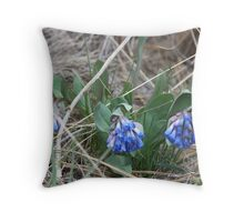 Sagebrush Bluebell Throw Pillow