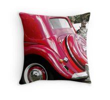 Vintage Citroen Spare Throw Pillow