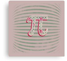 Artistic Pi Day Canvas Print