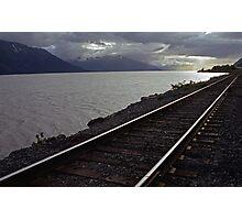 Alaska Rail Photographic Print