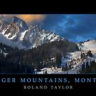 Bridger Mountains, ©2010 Roland Taylor by Roland Taylor