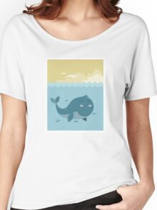 Whale at sea Women's Relaxed Fit T-Shirt