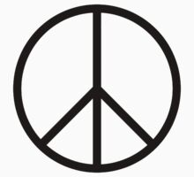 Ban the Bomb, Peace, Old school, original, symbol, CND, Campaign for Nuclear Disarmament Kids Clothes