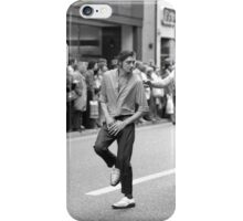 Dancing in the streets, 1976 iPhone Case/Skin