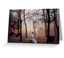 Forest of Unrequited Love Greeting Card