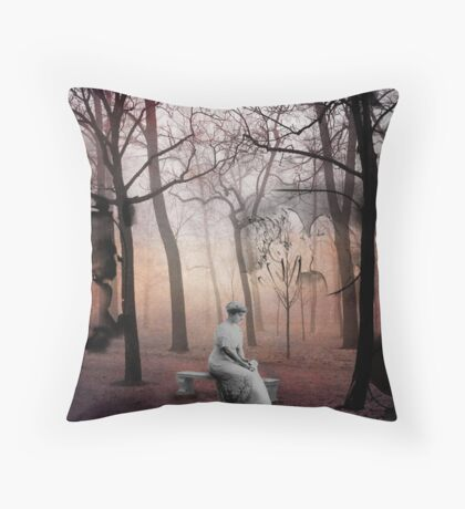 Forest of Unrequited Love Throw Pillow