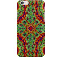 Red Flowers In The Garden iPhone Case/Skin