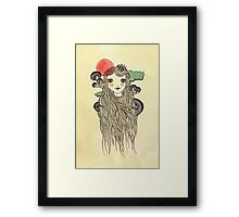 Little Kinoko Framed Print