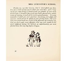 Mrs Leicester's School Charles & Mary Lamb with Minifred Green 18xx 0054 Farmhouse Tailpiece Photographic Print