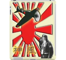 JAPAN, Kamikazi, Zero Pilot, Japanese, World War Two, WWII, iPad Case/Skin