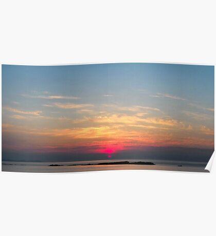 Irish Sunset Poster
