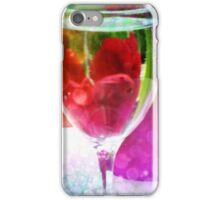 Flowers Through a Glass iPhone Case/Skin