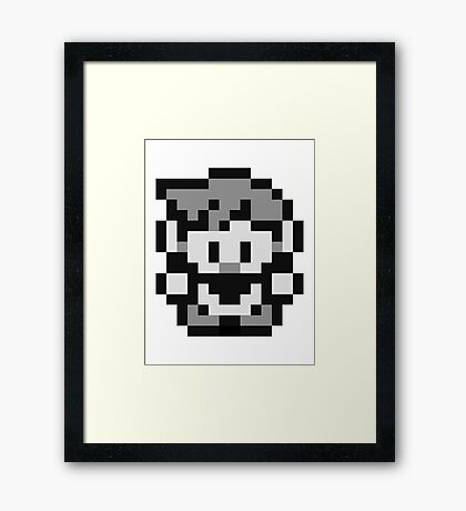Pokemon Trainer Blue (Generation 1 Red/Green/Blue) Framed Print