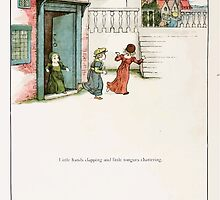 The Pied Piper of Hamlin Robert Browning art Kate Greenaway 0035 Little Hands Clapping by wetdryvac