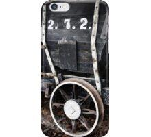 Vintage Original 18th Century Mining Train iPhone Case/Skin