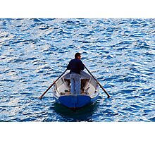 The Oarsman Photographic Print