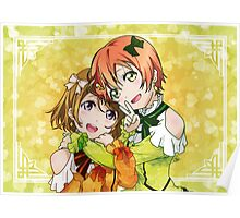 Rin & Hanayo (KiRa-KiRa Sensation camo edit) Poster