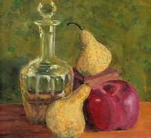 Still Life with Reflection by Angela Micheli Otwell