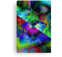 Modern abstract background Canvas Print