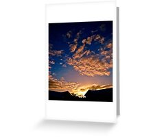 When the Skys Tell a Story Greeting Card