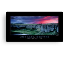 Lost Lake, Montana, ©2010 Roland Taylor Canvas Print