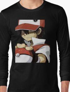 Pokemon - Trainer red Long Sleeve T-Shirt