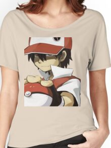 Pokemon - Trainer red Women's Relaxed Fit T-Shirt