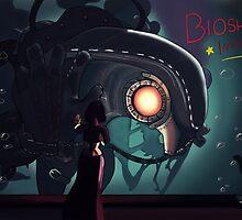 Songbird - Bioshock Infinite (Fanart) by Roisin Bent